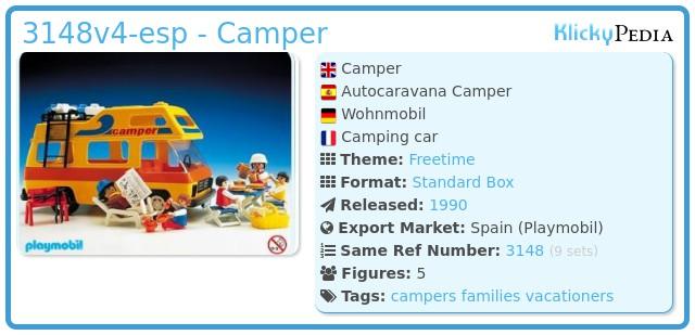 Playmobil 3148v4-esp - Camper