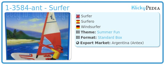 Playmobil 1-3584-ant - Surfer