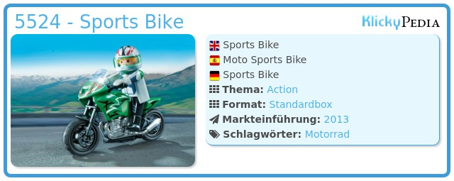 Playmobil 5524 - Sports Bike