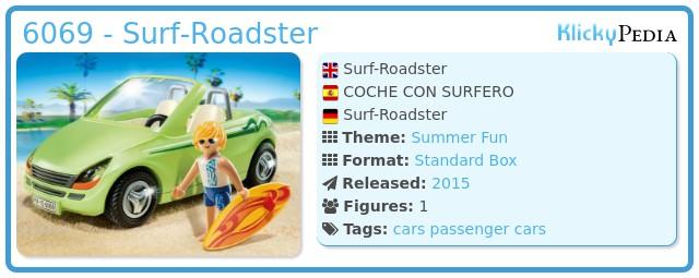 Playmobil 6069 - Surf-Roadster