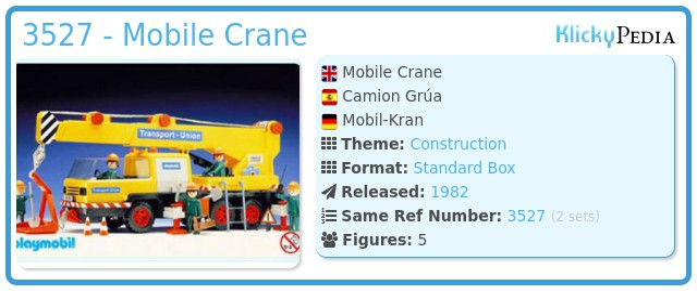 Playmobil 3527 - Mobile Crane