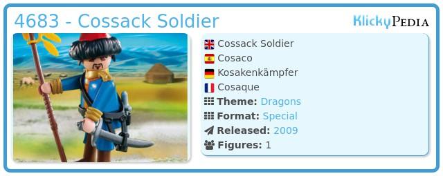 Playmobil 4683 - Cossack Soldier