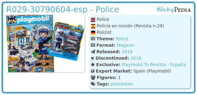 Playmobil 029-30790604-esp - Police