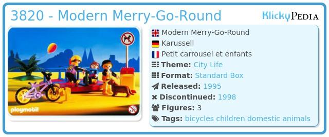 Playmobil 3820 - Modern Merry-Go-Round