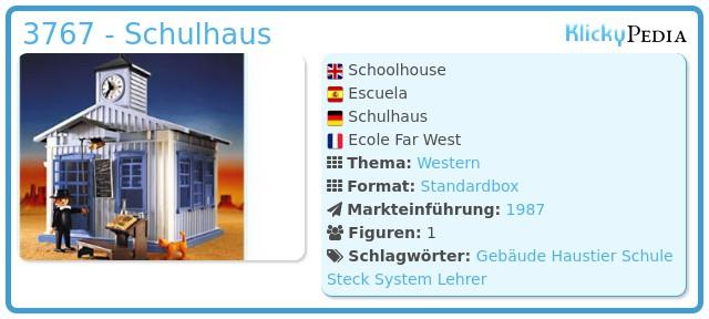 Playmobil 3767 - Schulhaus