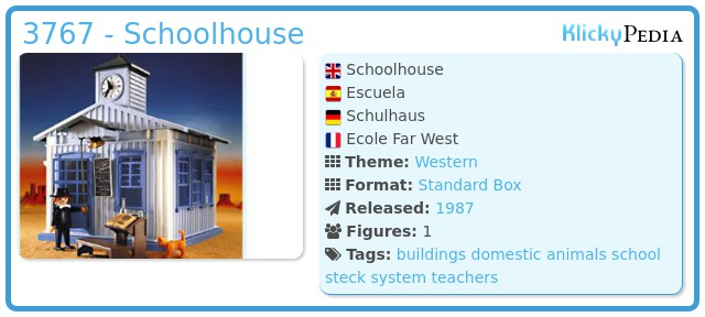 Playmobil 3767 - Schoolhouse