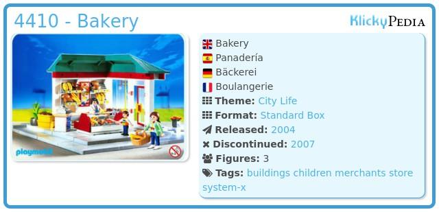 Playmobil 4410 - Bakery
