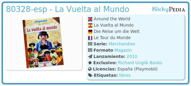 Playmobil 80328-esp - La Vuelta al Mundo