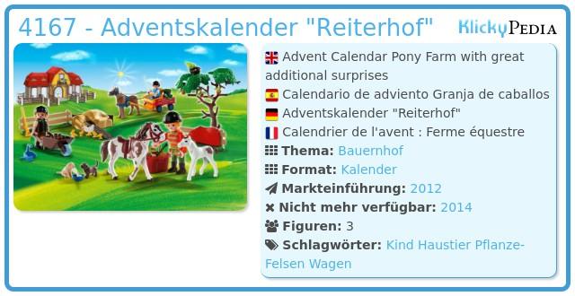 Playmobil 4167 - Adventskalender