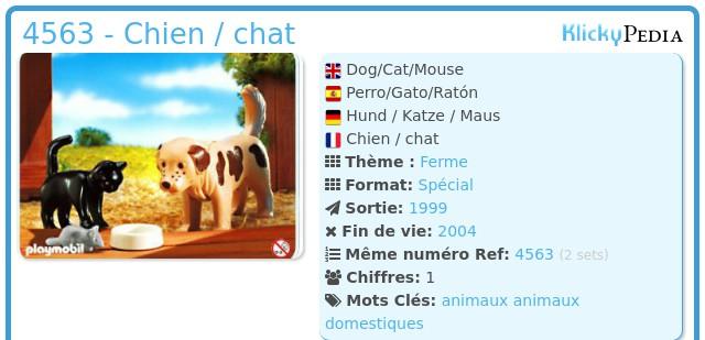 Playmobil 4563 - Dog/Cat/Mouse