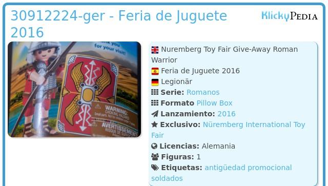Playmobil 30912224-ger - Feria de Juguete 2016