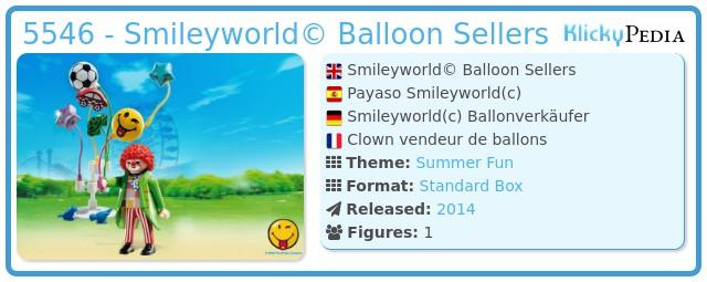 Playmobil 5546 - Smileyworld© Balloon Sellers