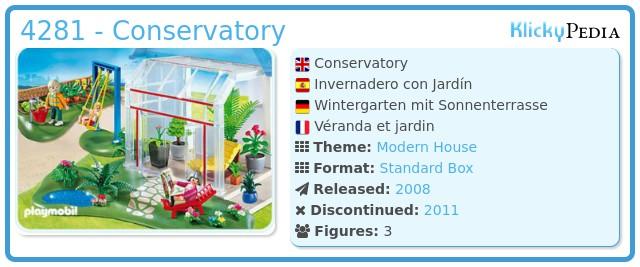 Playmobil 4281 - Conservatory