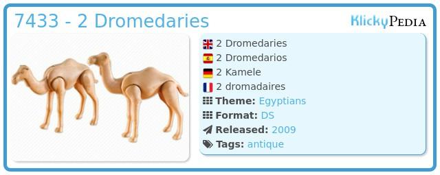 Playmobil 7433 - 2 Dromedaries