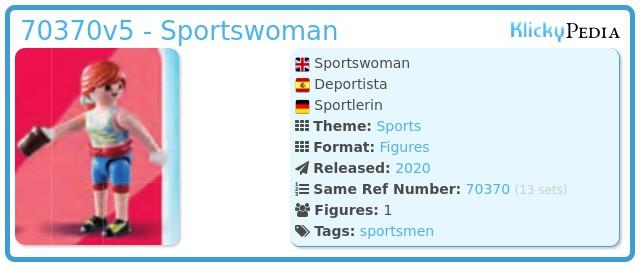 Playmobil 70370-05 - Sport woman