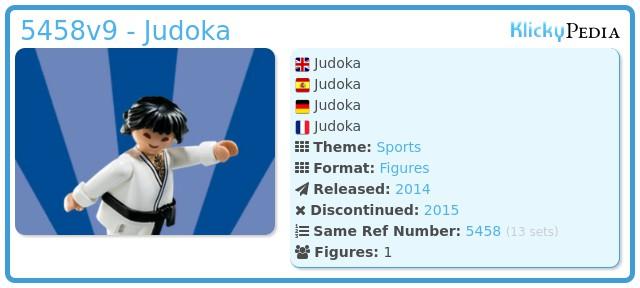 Playmobil 5458v9 - Judoka