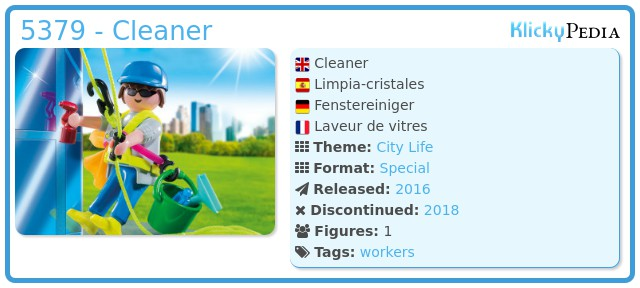 Playmobil 5379 - Cleaner