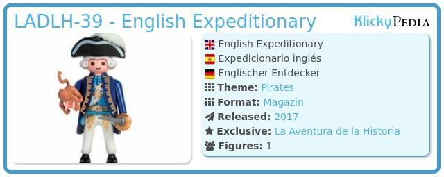 Playmobil LADLH-39 - English Expeditionary