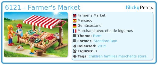 Playmobil 6121 - Farmer's Market