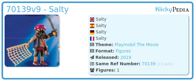 Playmobil 70139-09 - Salty