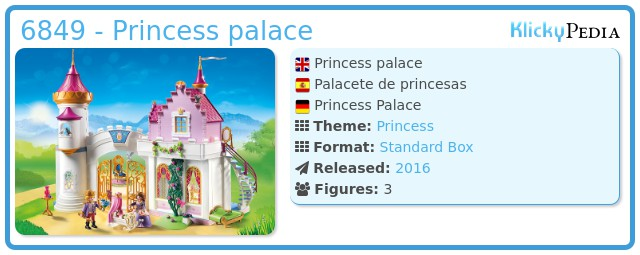 Playmobil 6849 - Princess palace
