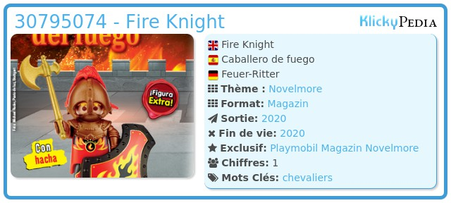 Playmobil 30795074 - Fire Knight