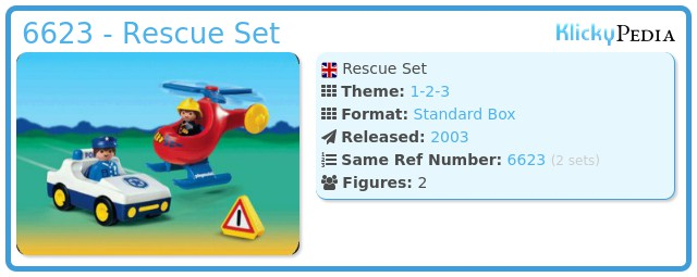 Playmobil 6623 - Rescue Set