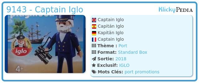 Playmobil 9143 - Captain Iglo