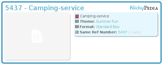 Playmobil 5437 - Camping-service