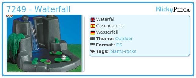 Playmobil 7249 - Waterfall