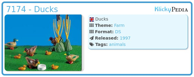 Playmobil 7174 - Ducks