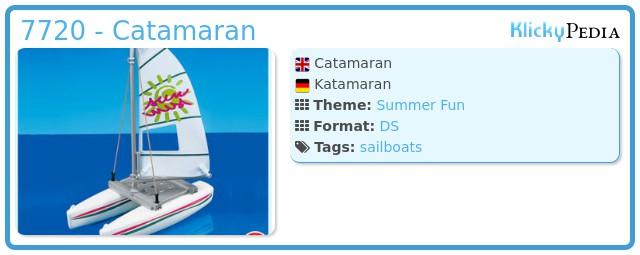 Playmobil 7720 - Catamaran