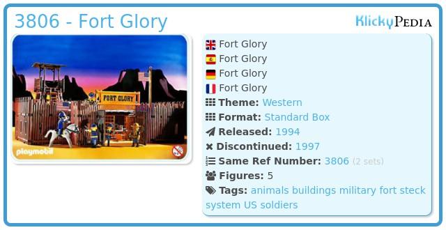 Playmobil 3806 - Fort Glory
