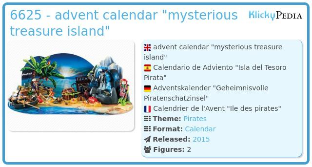 Playmobil 6625 - advent calendar