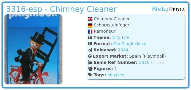 Playmobil 3316-esp - Chimney Cleaner