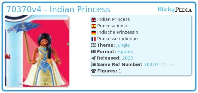 Playmobil 70370v4 - Indian Princess