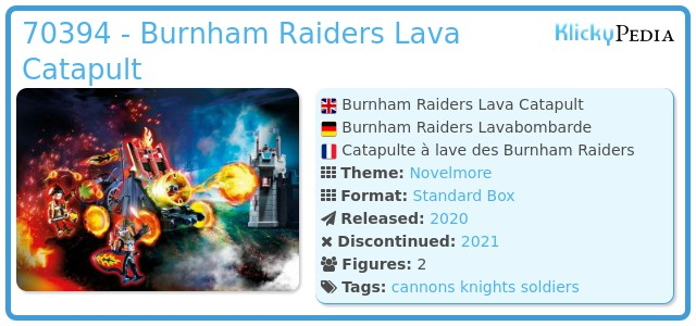 Playmobil 70394 - Burnham Raiders Lava Catapult