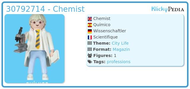Playmobil 30792714 - Chemist