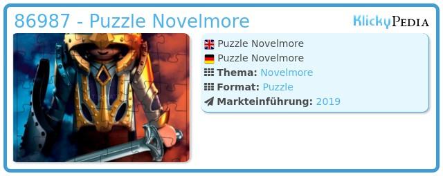 Playmobil 86987 - Puzzle Novelmore