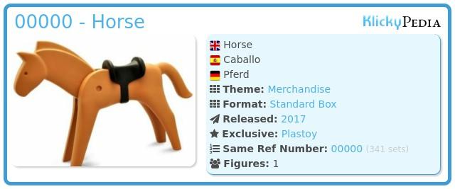 Playmobil 00000 - Horse