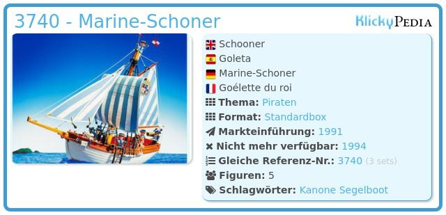Playmobil 3740 - Marine-Schoner