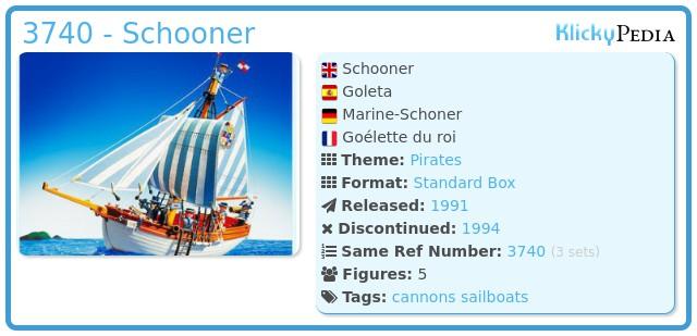 Playmobil 3740 - Schooner