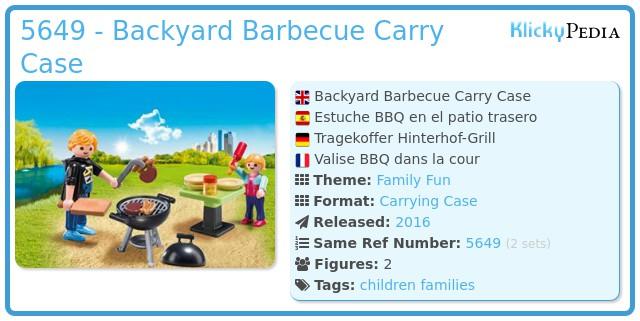 Playmobil 5649 - Barbecue box