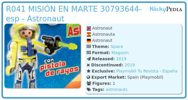 Playmobil R041-30793644 - Astronaut