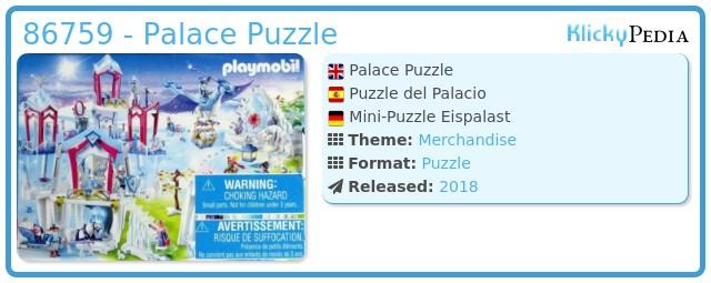 Playmobil 86759 - Palace Puzzle