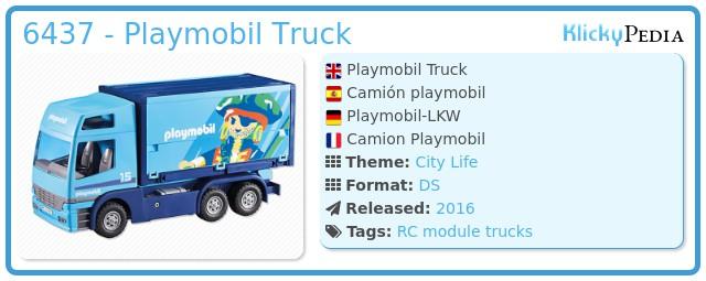 Playmobil 6437 - Playmobil Truck