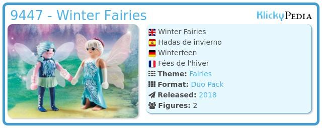 Playmobil 9447 - Winter Fairies