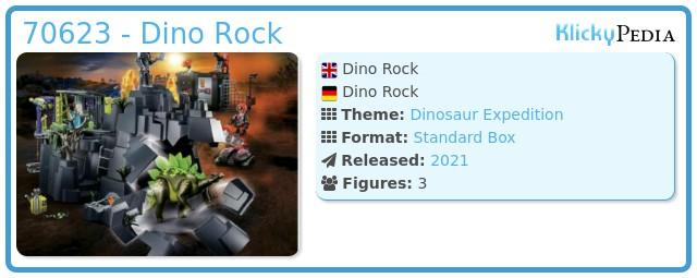Playmobil 70623 - Dino Rise Rock Playset