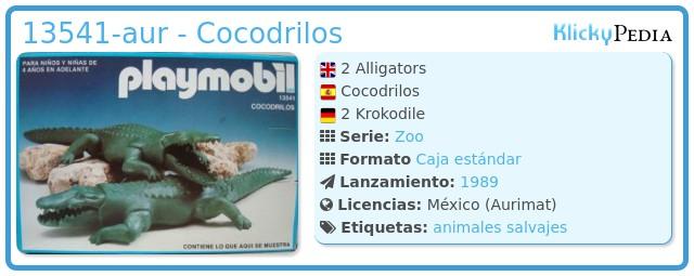Playmobil 13541-aur - Cocodrilos