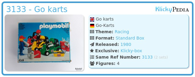 Playmobil 3133 - Go karts